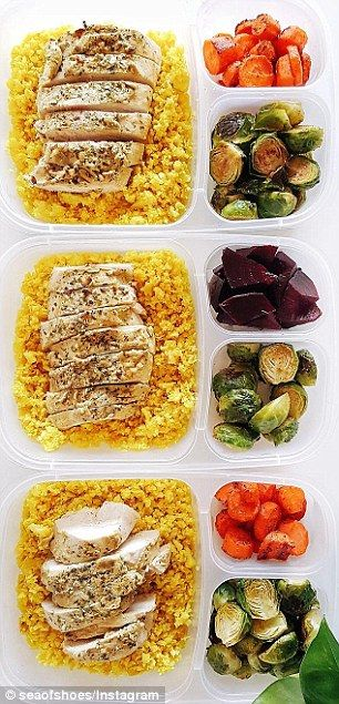 Meal prep queens of Instagram cook a week's worth of healthy food | Daily Mail Online