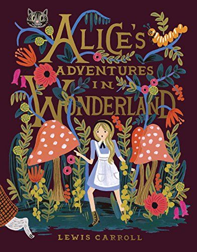 Alice's Adventures in Wonderland by Lewis Carroll http://www.amazon.com/dp/0147515874/ref=cm_sw_r_pi_dp_u6Cgvb0X74JPG