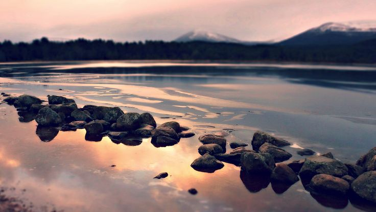 Loch Morlich, Cairngorm, Scottish Highlands