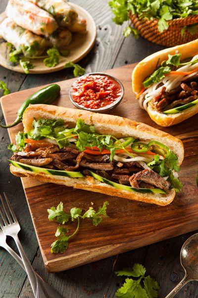 Photograph Vietnamese Pork Banh Mi Sandwich by Brent Hofacker on 500px