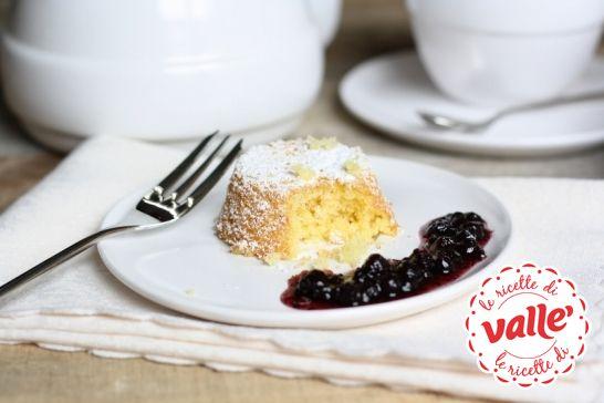 #Tortina paradiso con #mirtilli, ecco il #dolce perfetto per concludere la giornata.  Scopri la ricetta di @Farina lievito e fantasia per Valle'...