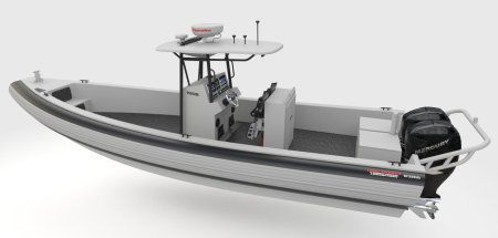 Outboard utility boat / rigid hull inflatable boat 1000 D IMPACT Brunswick Commercial and Government Products