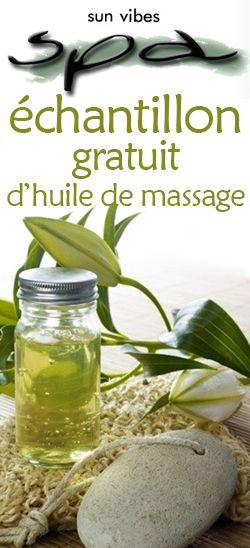 Échantillon gratuit d'huile de massage Sun Vibes Spa.  http://rienquedugratuit.ca/produits-de-beaute/echantillon-sun-vibes-spa/