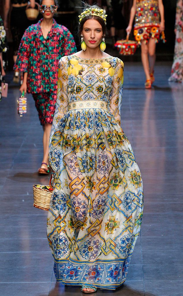Lemons the luxe way at Dolce &Gabbana.