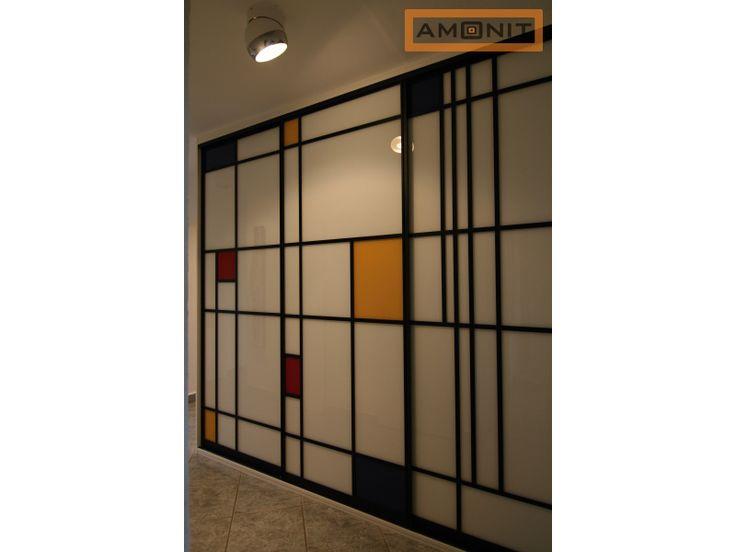 Kombinace barevných skel. Vyberte si z naší nabídky http://www.amonit.cz/vestavene-skrine-materialy/lacobely/