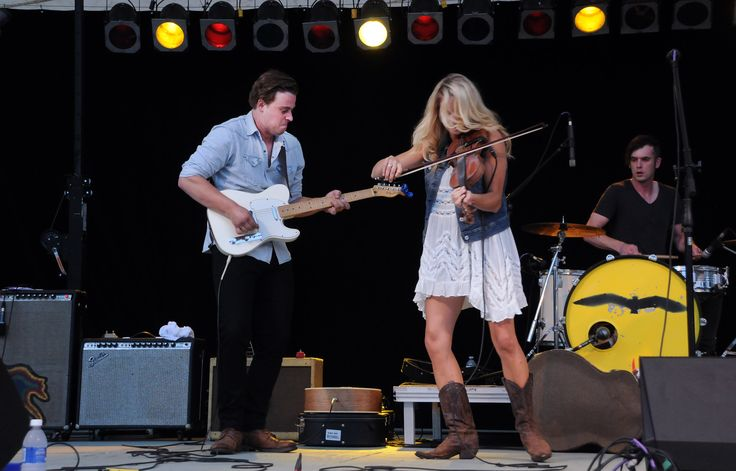 Express and Company played through the rain on July 19, 2014 at Peterborough Musicfest