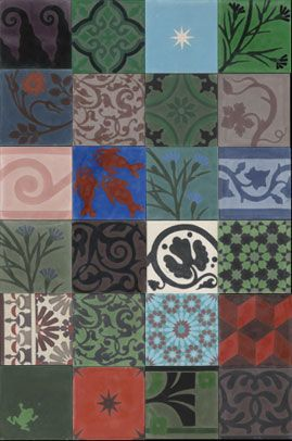 Emery & cie - Tiles - Cement - Models - Patchwork - Story