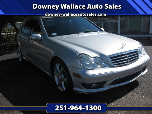 Used 2007 Mercedes-Benz C-Class C230 Sport Sedan for Sale in Loxley AL 36551 Downey Wallace Auto Sales