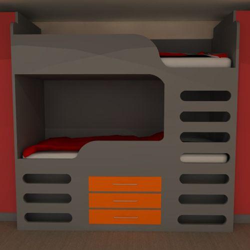 Cool Bunk Beds Great Idea For Older Kids And Teenagers Www Bdichildrensfurniture Co Children Bedroom Furniturekids Furniturecool