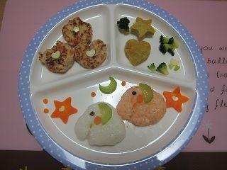 1歳誕生日③離乳食バースデープレート|Mikaのみかっちブログ*4歳児ママ