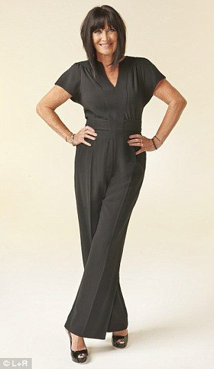 Black jumpsuit- great sleeves and trouser shape.  Never thought I would wear a jumpsuit - love it