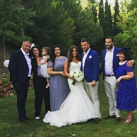 My new family ❤ love my @maggiesottero  dress