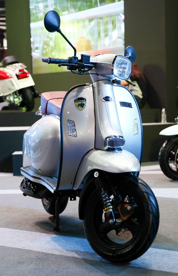 Scomadi TL125 Scooter : Silver (Special Color)