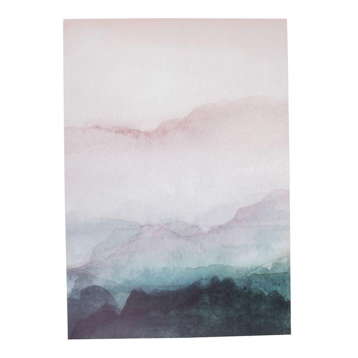 Lerretsbilde Watercolor