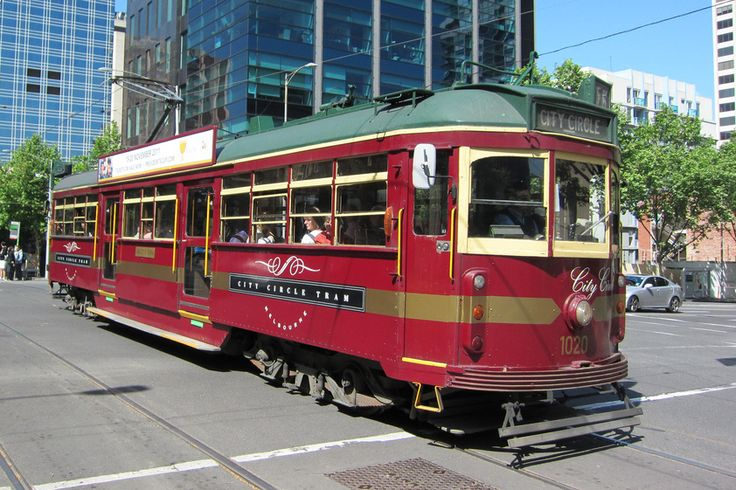 Melbourne's free City Circle tram. Image by Terrazzo / CC BY-SA 2.0