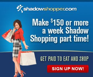 Have you ever heard of mystery shoppers?  They are people, just like you, who get PAID to shop and eat around their cities!  You simply sign up and then look over the available opportunities and the ...