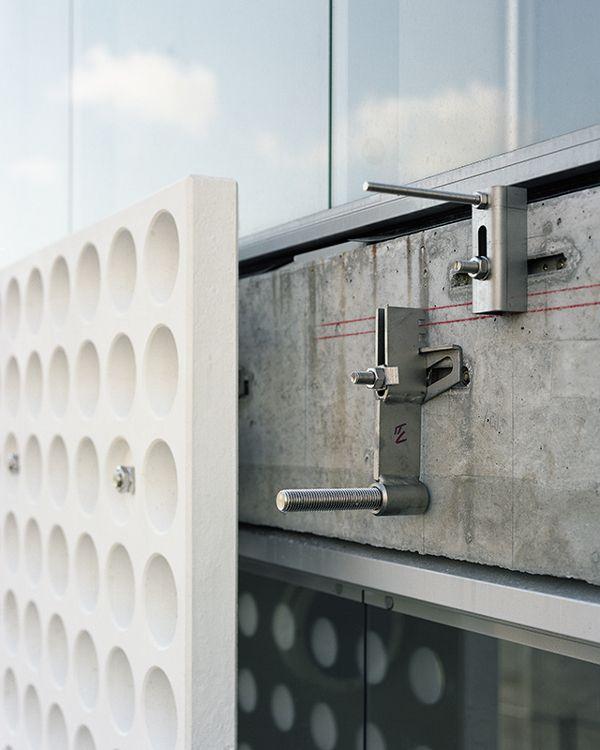 3D facade for project Lontoonkatu in Helsinki | FI by Rieder Smart Elements , via Behance