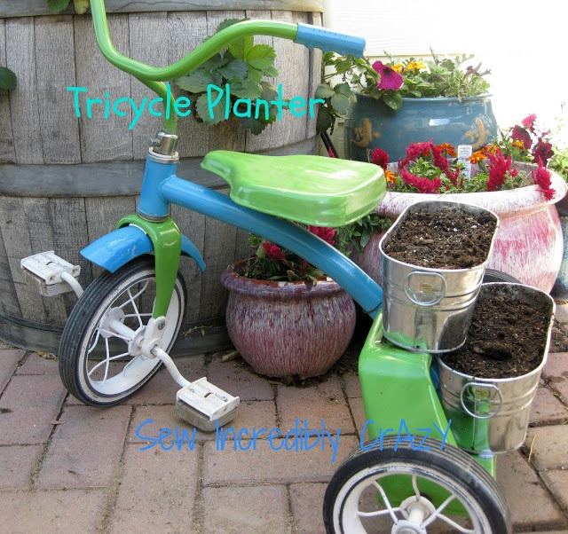 yard craft ideas 56 best tricycle images on pinterest flowers plants and gardening
