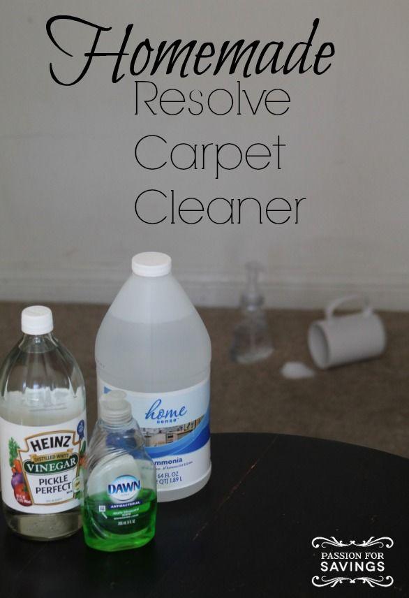 Carpet Spot Cleaner Recipe Homemade The
