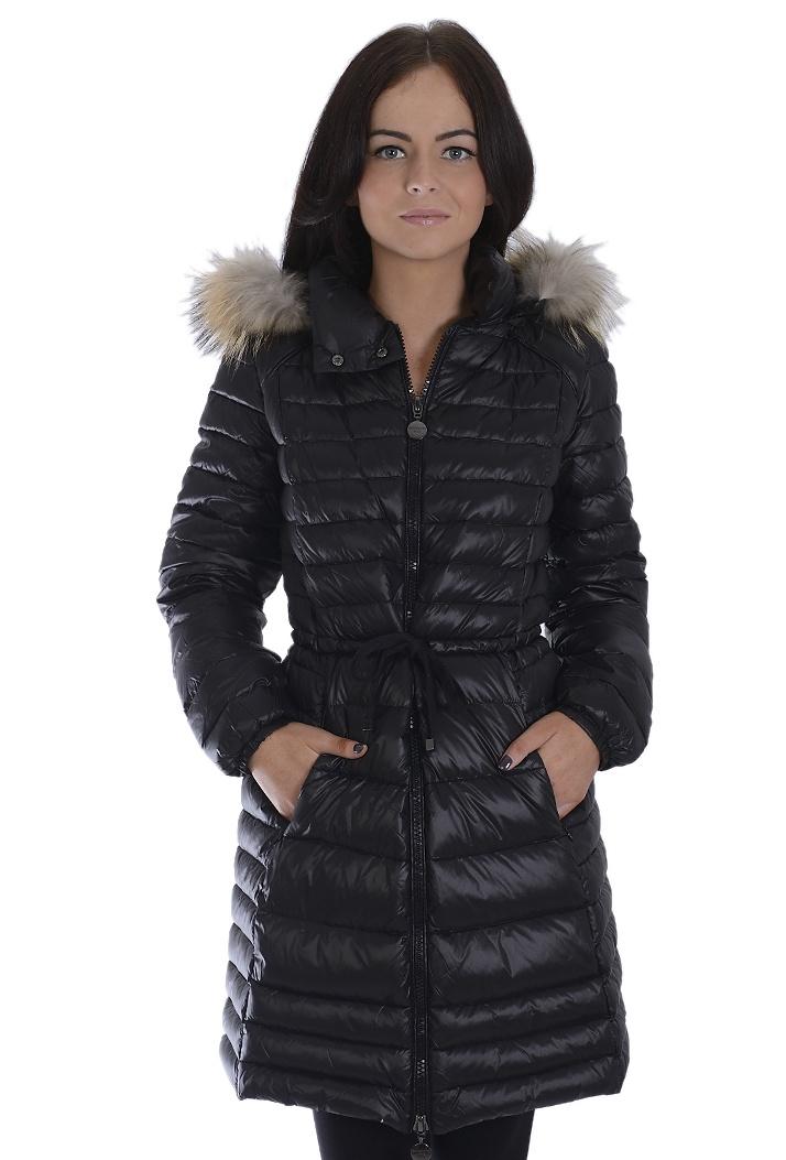 On Parle De Vous Duck Down Black Puffa Coat - Wrap up warm this