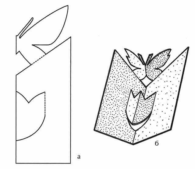 Открытки, шаблоны открытки на 8 марта своими руками из бумаги и картона