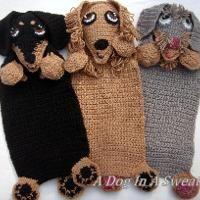 Crocheting: Doxie Blankie