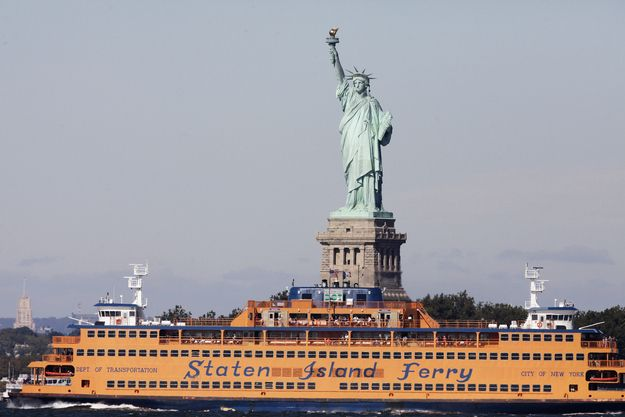 Afternoon: Take a ride on the Staten Island Ferry. | Free Stuff To Do Every Day In NYC
