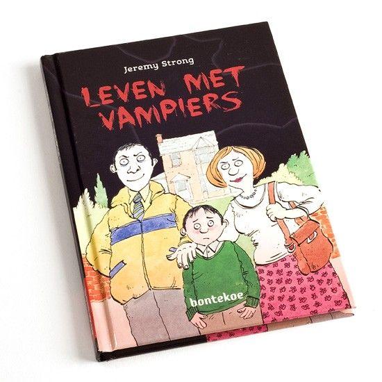 Leven met vampiers - De ouders van Stijn zijn vampiers! Spannend leesboek op AVI-E4 niveau speciaal voor kinderen die meer oefening nodig hebben om te leren lezen.