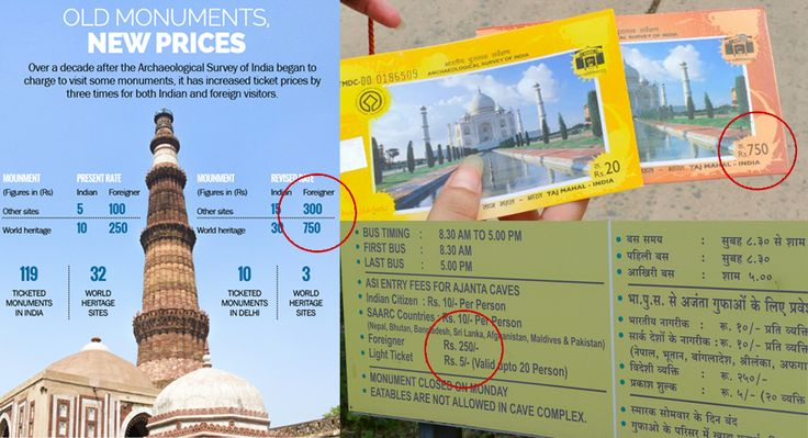 Do you think it is fair to charge foreigners differently? Most tourist visiting India find this differential pricing unfair! My blog : http://www.sanjaypuri.com/personal/why-atithi-devo-bhava-indias-popular-hospitality-norm-leave-out-foreign-tourist