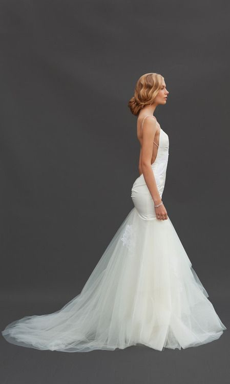 20 best bridal katie may images on pinterest for Backless wedding dresses for sale