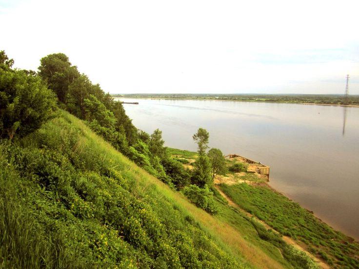 Волга. Нижегородская область