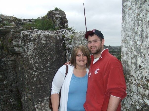 Blair x'05 and Blaine x'05 McKeirnan traveling in Ireland right after college
