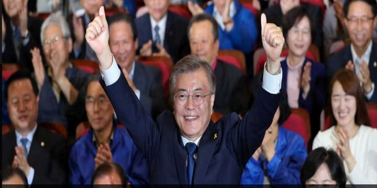"Top News: ""SOUTH KOREA POLITICS: Moon Jae-in Wins Election: Exit Polls"" - http://politicoscope.com/wp-content/uploads/2017/05/Moon-Jae-in-South-Korea-Politics-News-Headline.jpg - ""We will need to calmly wait and see as this was just exit polls,"" Liberal politician Moon Jae-in told party members  on World Political News - http://politicoscope.com/2017/05/09/moon-jae-in-wins-south-korean-election-exit-polls/."