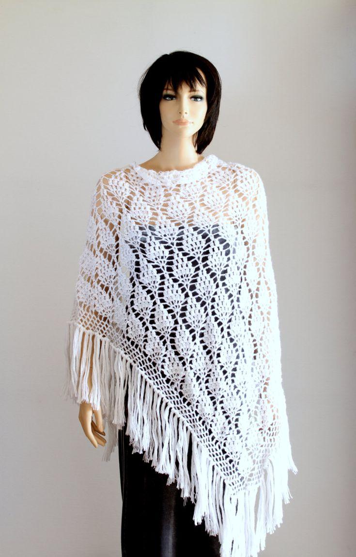 Wedding Shawl Wraps Shawls Large Shawll White Lace Crochet