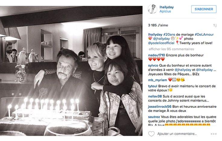 Johnny Hallyday et Laeticia Hallyday : 20 ans de mariage en 20 photos - Femme Actuelle