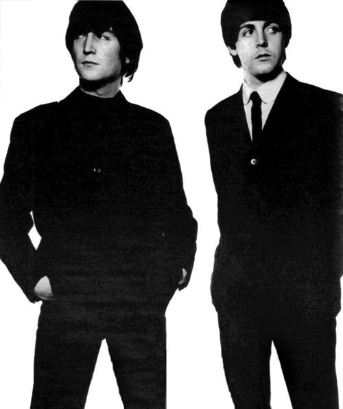 Lennon and McCartney --- One of the greatest song writing duos ever.