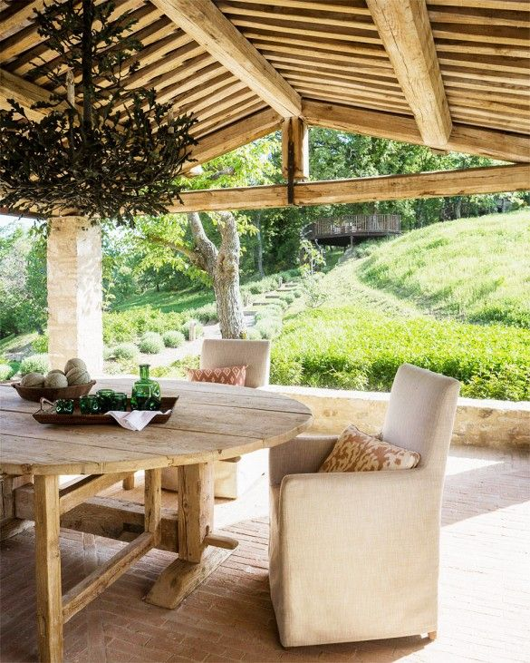 Dive Into This Zen Pool House With Rustic Flair: 17 Best Ideas About Italian Farmhouse Decor On Pinterest