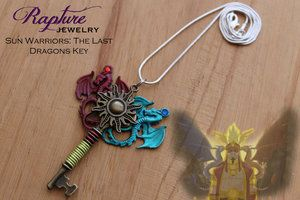 Sun Warriors: The Last Dragons Key Pendant Inspired by Avatar: The Last Airbender