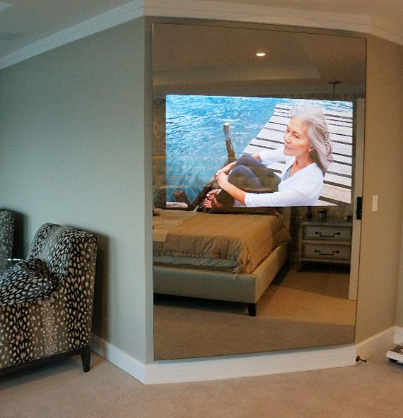 One of the most common complaints among designers is having to incorporate big ugly flat screen TVs into their design. But, If you or a client have an existing large screen TV or plan to purchase o…