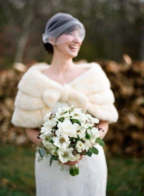 00e0bb395b1bd 34 Trendy Fall Wedding Coverups To Rock | Wedding ideas | Winter ...