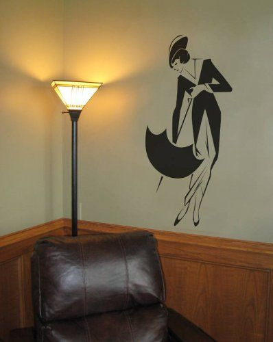 Real Art Deco inspired .. this lady has all the right angles.