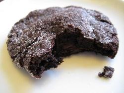 Rustica's famous chocolate cookie.
