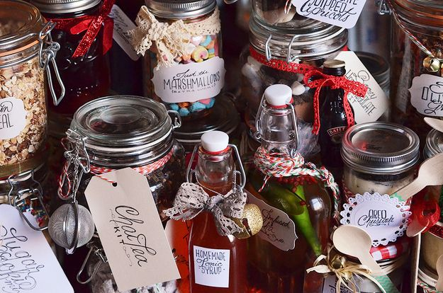 HOW TO DECORATE!   24 Delicious Food Gifts That Will Make Everyone Love You
