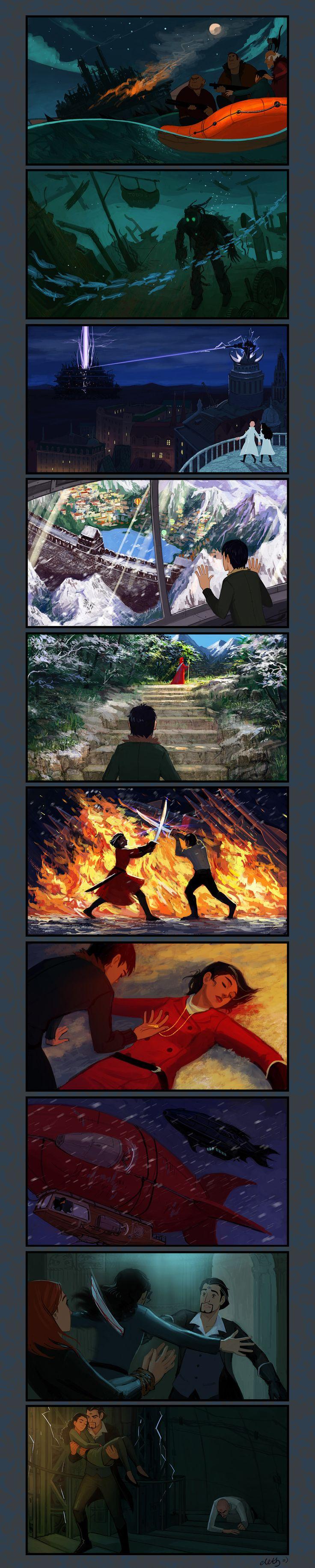 Mortal Engines explication III by eleth89