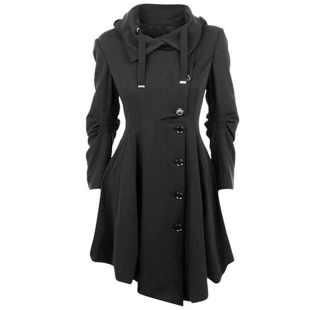 Trench Coat For Women Sobretudo Feminino Femme Casaco Manteau Long Coats