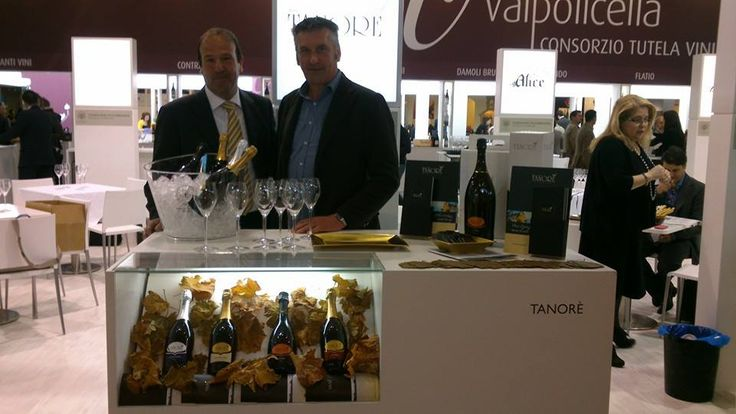 Renato Follador, one of the sons of TanoRé, at Vinitaly!
