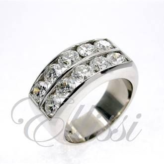 A double channel set #band. This #ring is actually for a guy. You know those rappers ... they just love da #bling!