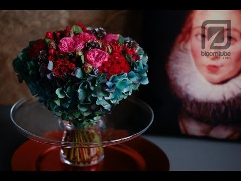 Bloomtube floral arrangement Winter trend