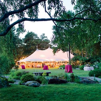 An Eco Friendly Garden Wedding