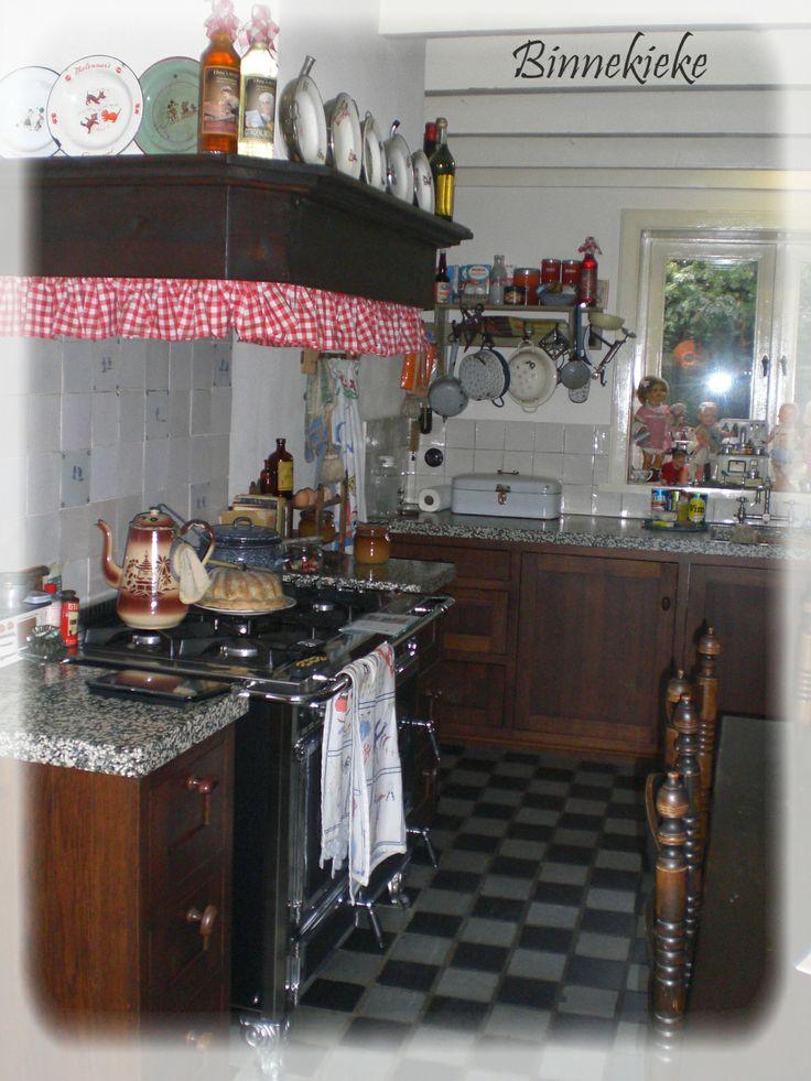 Mooie antieke keuken.